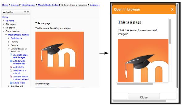Responsive HTML