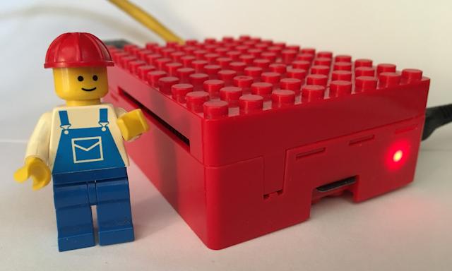 MoodleBox im Lego-Gehäuse